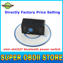 Wholesale Torque Supported Protocols - Wholesale-Power Switch ELM327 Bluetooth OBD2 Scanner Support All OBD2 Protocols Work on Android Torque Multi-languages V2.1 ELM 327 Switch