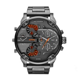 Wholesale Best Military Watches - 2018 Best selling Stainless steel men luxury watches dz7315 Sport military watched fashion men's brand quartz watch male atmos clock