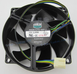 Wholesale Master Dual - Master Cooler 9cm 12V 0.65A A9225-42RB-6AP-L1 4 wire CPU PWM fan