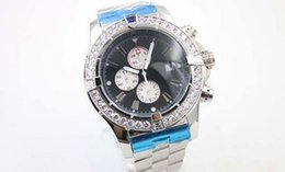 Wholesale Gem Stones Sale - 2016 new sale New Arrival Quartz Chronometer Men's Wristwatch Analog Stainless Steel Belt Platinum Skeleton Watch With Calendar Male Watch