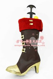 Wholesale Valentines Costume Accessories - Wholesale-lovelive Nico Yazawa Valentine wakeing cosplay shoes boots New come #MM042 Halloween Christmas festival