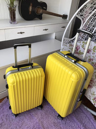Wholesale Travel Suitcase Wheels - Travel luggage suitcase 24 inches aluminum alloy rod box universal wheel high quality