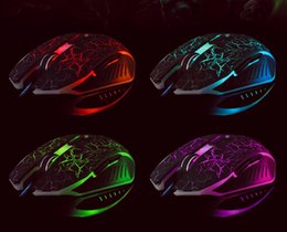 Wholesale Usb Wiring Colors - One mouse shows all colors with led back light mouse wired gaming mouse USB wired game mice for laptops desktop