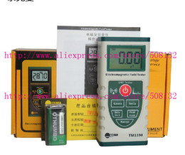 Wholesale Electromagnetic Radiation - Wholesale-TECMAN Genuine TM1390 electromagnetic radiation radiometer instrument measuring the magnetic field radiation tester gauss meter