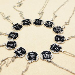 Wholesale Necklace Lay - Wholesale-2015 HOT Korean Popular Combination EXO 12 Members LU HAN,KRIS CHAN,YEOL,LAY,CHAN YEOL,KAI,TAO,SE HUN Necklaces&Pendants