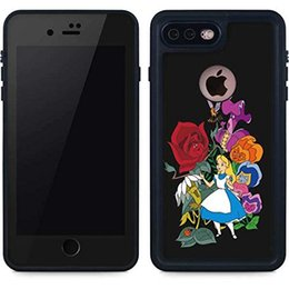 Wholesale Iphone4 Flower Cases - Alice flower X Skinit Waterproof Case For Samsung iPhone4 5 6 7