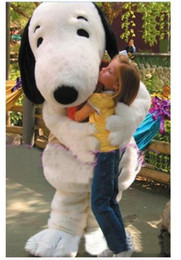Wholesale Cartoon Dog Costumes For Adults - Professional Customized EPE Snoopy Dog Mascot Costume outfits Cartoon Character Fancy Dress Mascots Costumes for adults