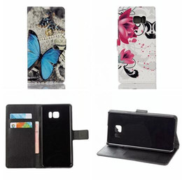 Wholesale Iphone Wallet Uk - Luxury Flower Wallet PU Leather Pouch Case For LG K10 K4 2017 Iphone 7 PLUS Iphone7 MOTO G5 ID Card Stand Owl Butterfly UK Flag Litchi Cover