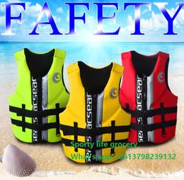 Wholesale Gilet de sauvetage professionnel de vie de sécurité vêtements de pêche gilet de sauvetage de sport de survie de l eau de sport