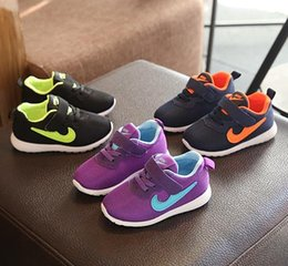 Wholesale Baby Boys First Walking Shoes - 2017 lowest price!Autumn 2016 Baby First Walkers shoes children's sports shoess mesh shoes girl boy running shoes