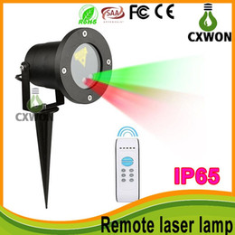 Wholesale Laser Lighting Show - outdoor waterproof IP65 laser light projector christmas lights Stage Lights laser light show projector 8 pattern have remote control