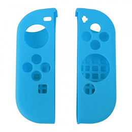 Wholesale Free Nintendo - New Arrival Silicon Case for Nintendo Switch Joy-Con Design for Nintendo Switch Joy-Con Controller With Opp Package Free Shipping DHL