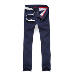 Wholesale Button Fly Chinos - Wholesale-Lowest Price! High Quality Chinos Casual Cotton Slim Straight Cheap Mens Pants Chino Pants Chinos Men Trousers 13N0439