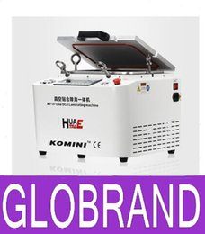 Wholesale Lcd Refurbished Machine - 12 inch for Refurbish LCD OCA laminating machine with remove bubble machine all-in-one De-bubble lamiator mahcine GLO94