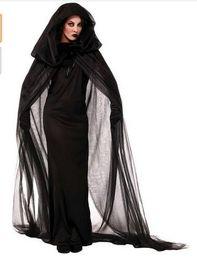 Argentina Halloween El alma de Mujer Fantasma Cosplay Bruja Traje de vampiro Unifom Ropa 2016 vestidos de novia de halloween Suministro