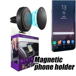 Wholesale Universal Swivels - Magnetic Car Air Vent Mount Holder MagGrip 360 Rotation Universal Cell Phone Holders Swivel Head for iPhone and Android Smartphones