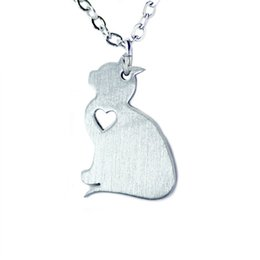 Fun easter gifts online wholesale distributors fun easter gifts online shopping fun easter gifts 2016 original fun cute adorable kitten stainless steel animal necklace negle Images