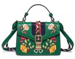 Wholesale Black Fringe Ribbon - bags handbags women famous brands Embroidered bag fringe crossbody shoulder strap bag luxury designer leather top-handle bags Luxury handbag