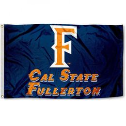 Wholesale Flag Logos - Cal team State University logo Fullerton Flag