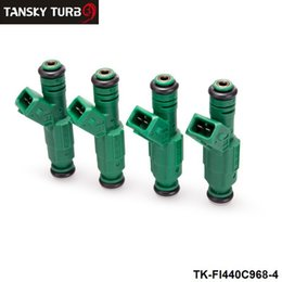 Wholesale Ev6 Injector - TANSKY - 4PCS LOTHigh flow Fuel Injector 440cc 42lb 0 280 155 968 EV6 BA BF HSV FPV Turbo TK-FI440C968-4
