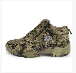 Argentina nuevo campo Zapatos antideslizantes de algodón cálido Zapatos de algodón camuflaje de montaña para hombre 3547 Lona con zapatos gruesos de algodón Suministro