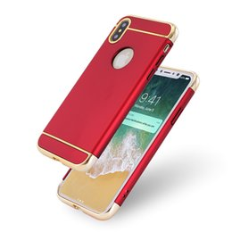 Wholesale Armor Back - For iPhone8 X 8 Plus Ultra-thin Luxury Shockproof 3 in 1 Armor Snak Hard Back Case Cover For iphone 7 6 plus 7plus