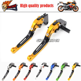 Wholesale F4i Honda - NEW! fits for HONDA CBR600 F2 F3 F4 F4I , CBR900RR Motorcycle Folding Extendable Brake Clutch Levers