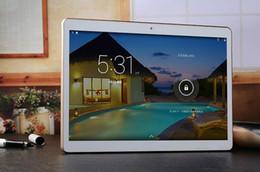 Wholesale Usb Dock Hdmi - Free shipping 9.6 inch MTK6582 IPS 1280*800 Screen Quad Core 1GB 16GB Tablette Dual SIM 3G Bluetooth GPS WIFI Tablet PCs