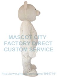 Wholesale Cheap Character Costumes - cheap white polar bear mascot costume custom cartoon character cosply adult size carnival costume 3062