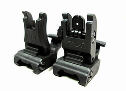 Wholesale Back Up Sights - Iron Folding #71L-F R Set Front & Rear Flip-up Back-up Tactical Sites Sights