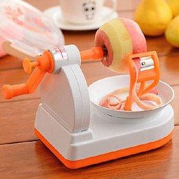 Wholesale Peel Fruit Machine - Apple pear fruit Peeling Machine creative orange peeler Kawaii Kitchen tool Hot New Gadgets 2016 automatic apple peeler