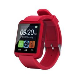 Wholesale Android Note3 - Bluetooth Smartwatch U8 Smart Watch for iPhone 6S 7S 4 4S 5 5S Samsung S4 S5 Note 2 Note3 HTC Android FreeDHL