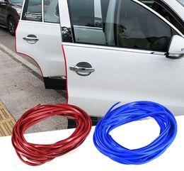 Wholesale Auto Rubber Door Seals - Car Stickers Door Scratch Strip Protector Edge Guard Rubber Sealing Universal Internal Decoration Auto Accessories Car-styling