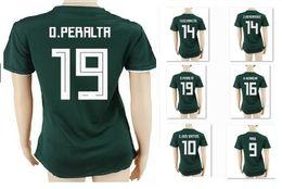 Personalizado Tailandia calidad México mujeres casa verde 9 R.Jimenez  camisetas de fútbol camisa ee23d4a5ba244