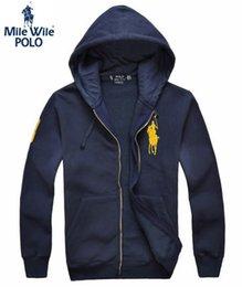 Wholesale Animal Blazer - 2016 Polo Hoody Mens jacket coat,Baseball sweatwear,sport jacket blazer size M-3XL,5 Color