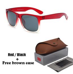 Occhiali da sole di marca delle donne online-7 colori scegliere occhiali da sole uomo donna marchio di design occhiali da sole occhiali per gli uomini occhiali lunette de soleil oculos de sol masculino con custodia
