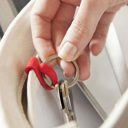 Wholesale Purse Hooks Wholesale - mini key clip organizer-clips finder hook hanger hang colorful for handbag purse tote bag inside free shipping