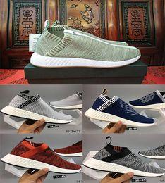 Wholesale Point Socks - 2017 Cheaper NMD City Sock 2 Primeknit Running Shoes,Men Women x Naked x Kith Training Sneaker NMD CS2 PK R2 Runner PK Boost Casual Boost