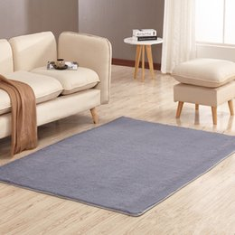 Wholesale Polyester Pile - Extra-thick Washing Silk Footcloth Skid Resistant Carpet Living Room Coffee Table the Bed of the Bedroom Yoga Mat