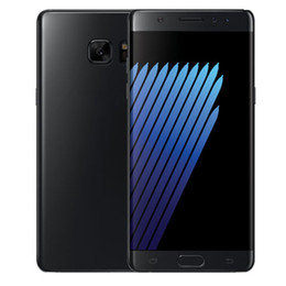 Wholesale Box Cell Phones - Sealed box NOTE7 smartphones 5.7 inch MTK6580 Quad Core 1G 4G can show 1G 64G fake 4G LTE Android 6.0 Lollipop Smart Cell phone