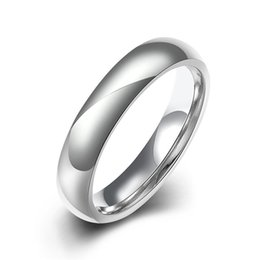 Wholesale Cheap Band Rings For Men - 316L stainless steel ring fashion jewelry for women men neutral minimalist style top quality cheap wholesale free shipping