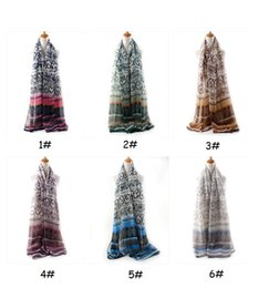 Wholesale Silk Charm Scarves - Ethnic Style Charming Scarves Chinese Traditional Design Vintage Summer Winter Autumn Scarf For Women Accessories ZA0098