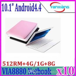"""Wholesale Tab Computers - 10"""" Ultra Super Thin Android Netbook Notebook Pad Tab 4.2 Dual Core Student Kid's School Laptop Netbook Mini Computer 10pcs ZY-BJ-3"""