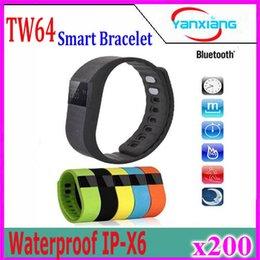 Wholesale Green Photographs - TW64 Akin Fitbit Flex Bluetooth4.0 Smart Bracelet Waterproof Anti Lost Wristband Call Reminder Remote Photograph Watch 200pcs YX-TW64