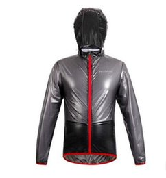 Wholesale Rain Jackets Sale - Hot sales Rain Coat Cycling Jersey Multi function Jacket Waterproof Windproof bike Bicycle clothes Take hat riding raincoat