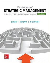 Wholesale Essentials of strategic management