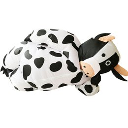 Wholesale Cow Halloween Costumes Adult - Inflatable Cow Costume for Men Women Adult Unisex Fancy Dress Air Suit Milk Cattle Carnival Party Christmas Halloween Outfits