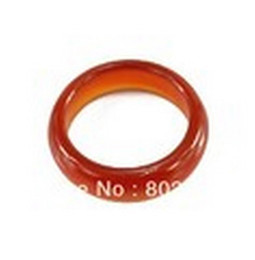 Wholesale White Jade Carvings - Free P&P Wholesale 100% Natural Red jade handcraft carve jewelry Ring