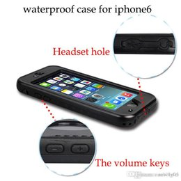 Wholesale Dirtproof Water Proof - iPhone 6 Waterproof Case,IP68 Waterproof Shockproof DirtProof Snow Proof Heavy Duty Full Body Skin Case Protective Cover