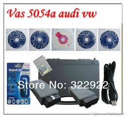Wholesale Skoda Diagnostic Vas - VAS 5054A v19 Diagnostic Interface VAS5054A Scanner 5054 with Bluetooth & Multi-language for vw skoda seat with Free Shipping